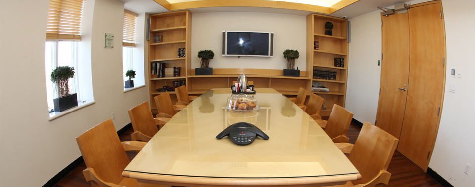 Conference Room at the Shluchim Center